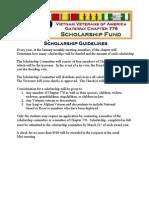 VVA Chapter 776 Scholarship Application Package