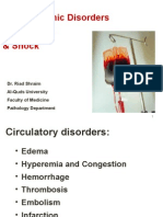 Hemodynamic Disorders Thrombosis