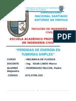 QUINTO INFORME DE MECANICA DE FLUIDOS.docx