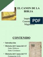 Historia Del Canon Biblico