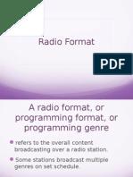 Radio Format