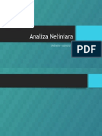 Analiza Neliniara