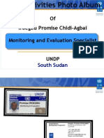 Promise Iroegbu Field Mission & Capacity Building Activities(South Sudan) in Pictures