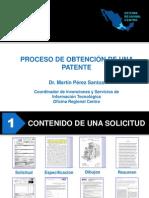 Proceso de Obtencion de Una Patente