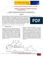 Predictive Force Models for Orthogonal Cutting Incorporating Tool Flank Wear