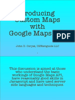 custom google map