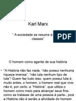 Aula - Karl Marx