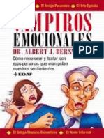 Vampiros Emocionales - Albert J. Bersnstein