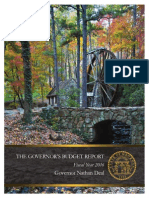 Georgia FY 2016 Proposed Budget
