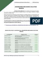 Mcgraw Hill Engineering Mechanics Solution Manual