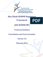 AD EHSMS RF - TG - Consultation and Communication