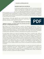 Plan de La Patria 2007-2013