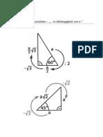 Rechnen mit Formvariablen - Besondere Dreiecke