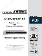 Techni SAT DigiCorder_S1 User Man