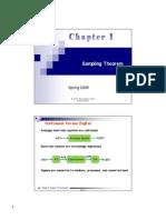 Chapter 1 Sampling Theorm2