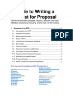 Request for Proposal Writing Guide