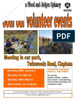 Browns Wood 2015 Events Poster