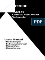 Manual Tach 10