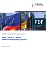Achilles Brief Guide to Utilities Eu Procurement Legislation