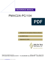 Pmac2apc104 Hardware Reference Manual
