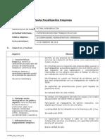 Pauta de Focalizacion (Trabajo en Altura Sictral 13 de FEB de 2014)