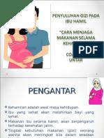 penyuluhan nutrisi ibu hamil dan gizi buruk