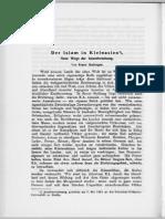 Babinger Der Islam in Kleinasien ZDMG1922
