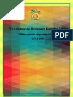 1st Quarter District Newsletter Newsletter- French