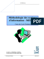 Méthodologie Merise - Cours Du Cycle B Du Cn Am