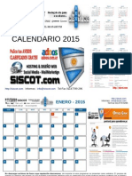 Calendario Siscot Anual Argentina 2015