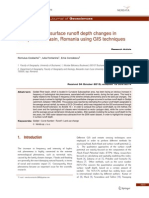 Assement of Surface Runoff Depth Changes in Saratel River Basin-libre