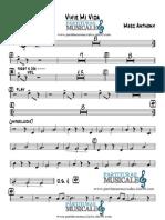 Trumpet 2 - Vivir Mi Vida Partiturasmusicales.site90.Com