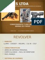 Conocimiento y Uso Armas de Fuego