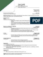 resume-jan 2015