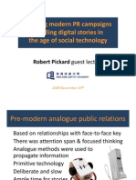 Building Modern PR Campaigns