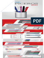Catalogo Esferos 2014
