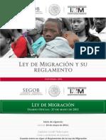 Ley de Migracion y Reglamento