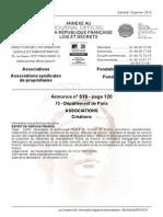 Association Esprit de Service France