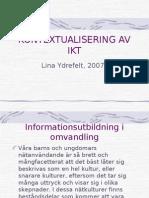 KONTEXTUALISERING AV IKT2