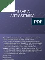 terapia antiaritmica