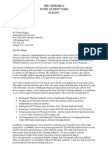 Thruway Authority Letter to Megna