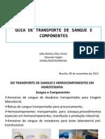 Guia de Transporte de Sangue e Componentes