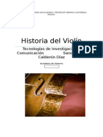 Historia Del Violin 1