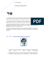 Historia Contemporánea de Guatemala