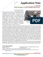 Terahertz THz Measurements of Liquids by a Vacuum Compatible ATR Accessory