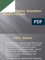 International Business- India's Future