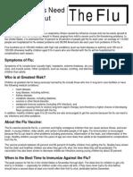 flu fact sheet