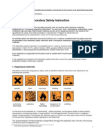 Safety for Lab