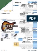 1964 Fender Bass VI parts list and wiring chart   Bass Guitar   Music  Technology   Bass Vi Wiring Diagram      Scribd