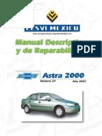 Manual Descriptivo y de Reparabilidad Astra 2000-01